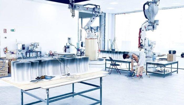 همکاری جیمی چو و Nagami برای تولید مبلمان های پرینت سه بعدی شده