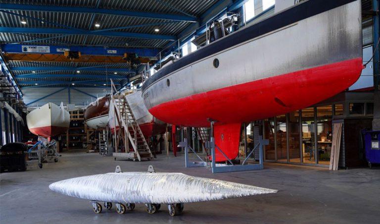 پرینت سه بعدی مازه آلومینیومی قایق