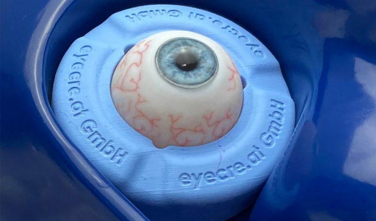 پرینت سه بعدی مدل جراحی چشم