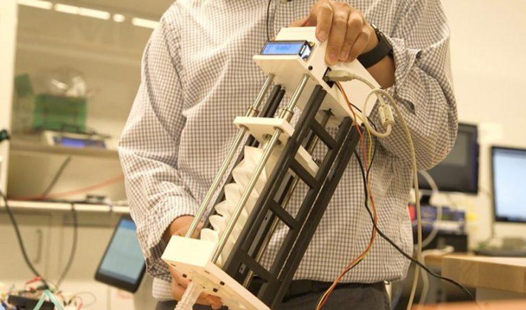 پرینت سه بعدی ونتیلاتور برای مبارزه با بیماری کرونا