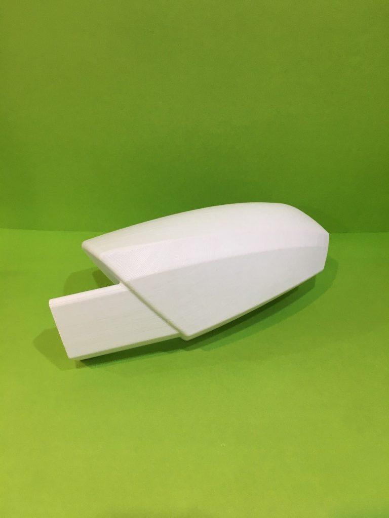 تولید قطعه قاب آینه خودور از جنس پلاستیک ASA با قابلیت کاملا عملکردی توسط پرینتر سه بعدی وندار ۳۵۰